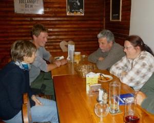 Večerní posezení v restauraci Koliba v kempu. Foto R. Waldhauser