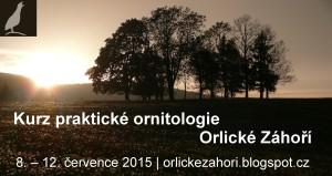 ornitologický kurz 2015
