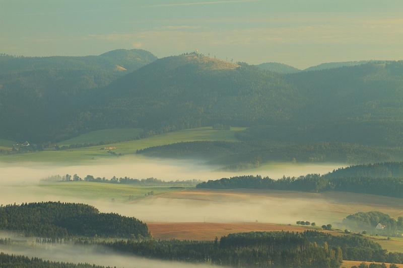 Krajina Javořích hor. Foto Miroslav Macek