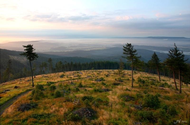 Krajina Javořích hor. Foto Jan Čáp